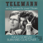G.P Telemann - Six Sonatas for Two Oboes