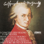 W.A Mozart, Concertos for Violin and Orchestra