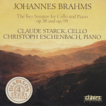 J. Brahms, Sonatas for Cello and Piano