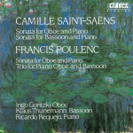 C. Saint-Saens & F. Poulenc, Sonatas for Oboe, Bassoon and Piano