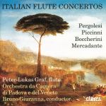 Italian Concertos for Flute and Orchestra