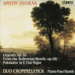 A. Dvorak, Legends, From the Bohemian Woods & Polonaise in E Flat Major