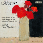 W.A Mozart, String Quartet K. 387 and K. 465, Adagio and Fugue K. 546